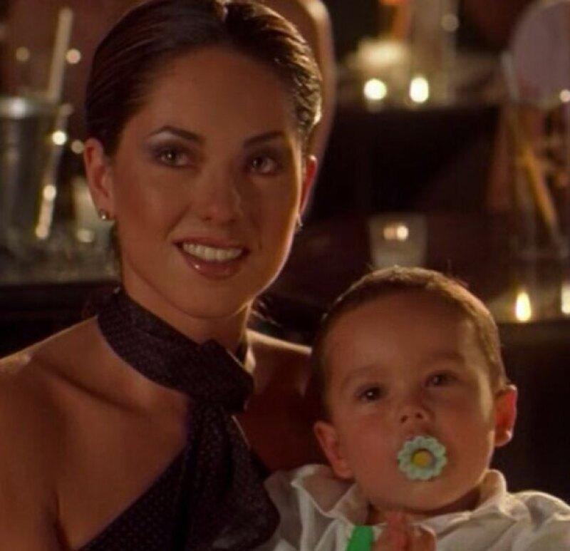En su cumpleaños, Sergio felicitó a su mamá con esta tierna imagen.