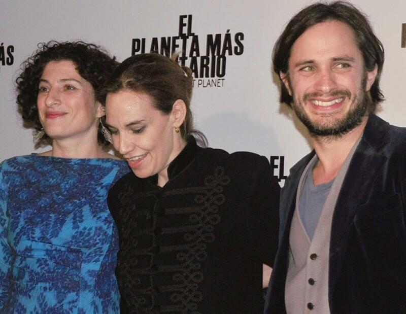 Julia Loktev, Daniela Michel y Gael García.