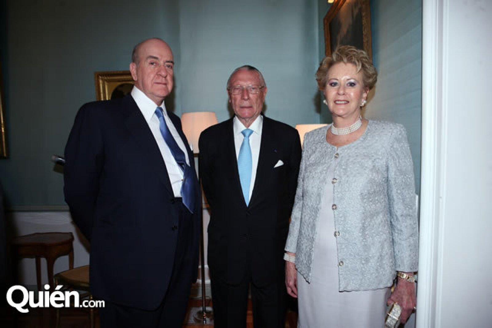 Antonio Madero,Jean Berthelot,Teresa Madero