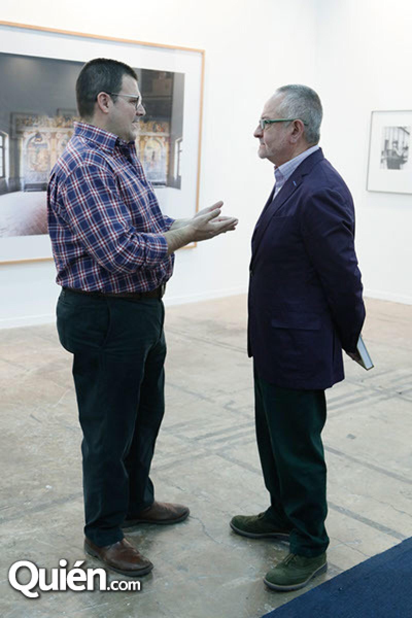 Gerardo de la Madrid y Carlos Amezcua
