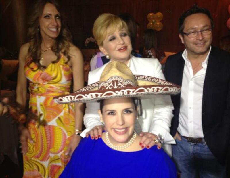 La conductora de `El Gordo y la Flaca´ ofreció, en Miami, un baby shower para festejar la llegada de la hija de la actriz y Otto Padrón.