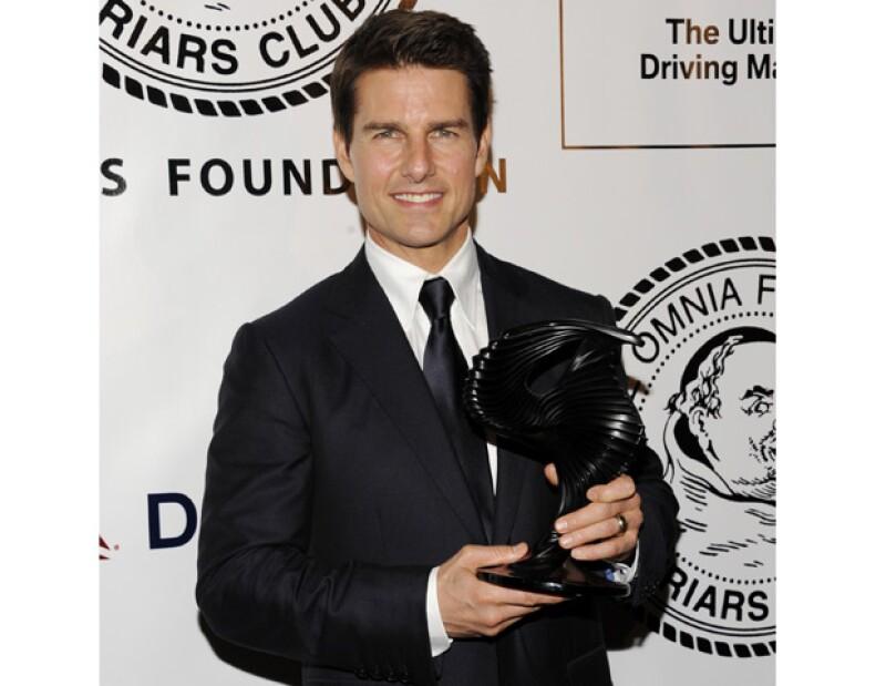 """El actor estadounidense estuvo en Manhattan pare recibir un premio y promocionar su nueva película, """"Rock of Ages""""."""