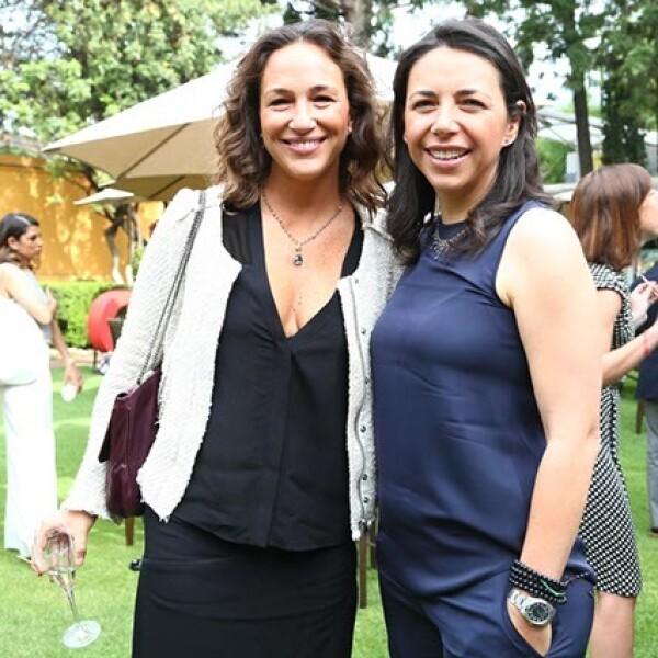 Mariana Baños y Laura Manzo