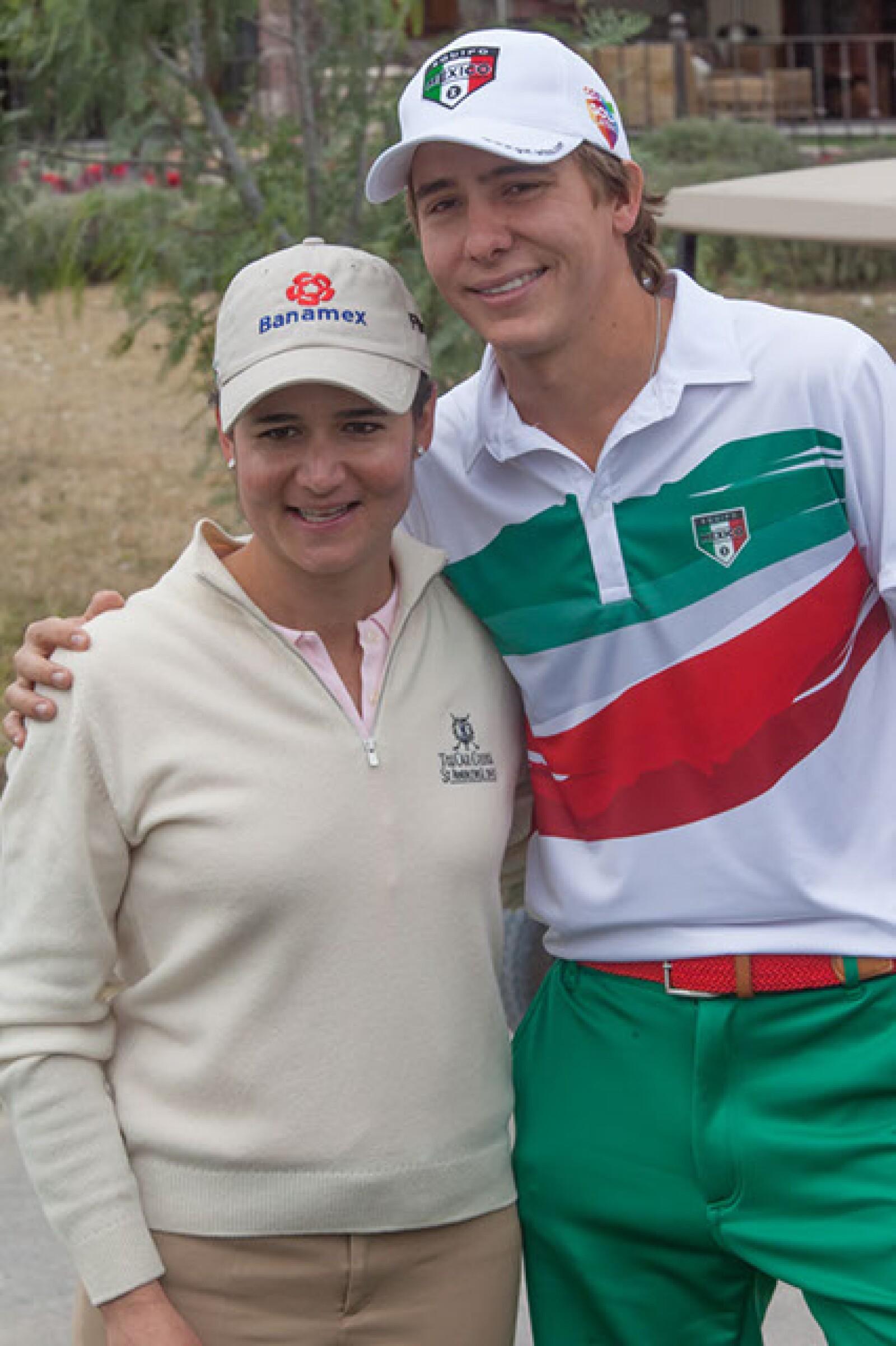 Lorena Ochoa y Carlos Ortiz