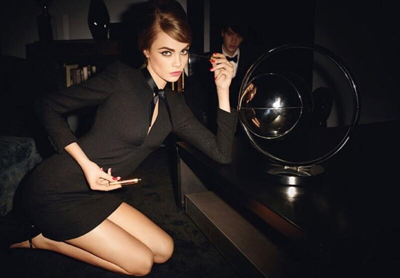 En poco tiempo Cara se ha convertido en una de las modelos más codiciadas para las grandes firmas.