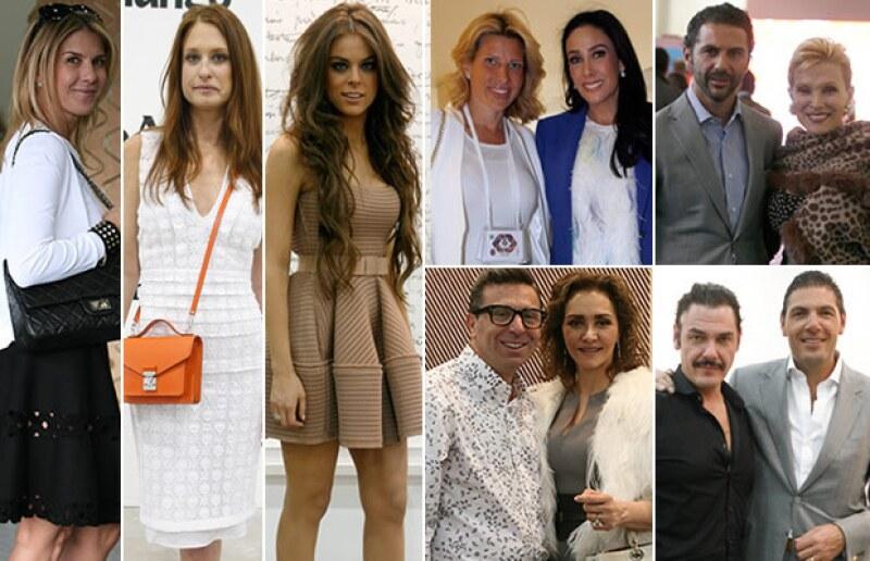 Personalidades del mundo empresarial, político, social y del medio del espectáculo se dieron cita este año en diversos eventos de moda, arte y más.