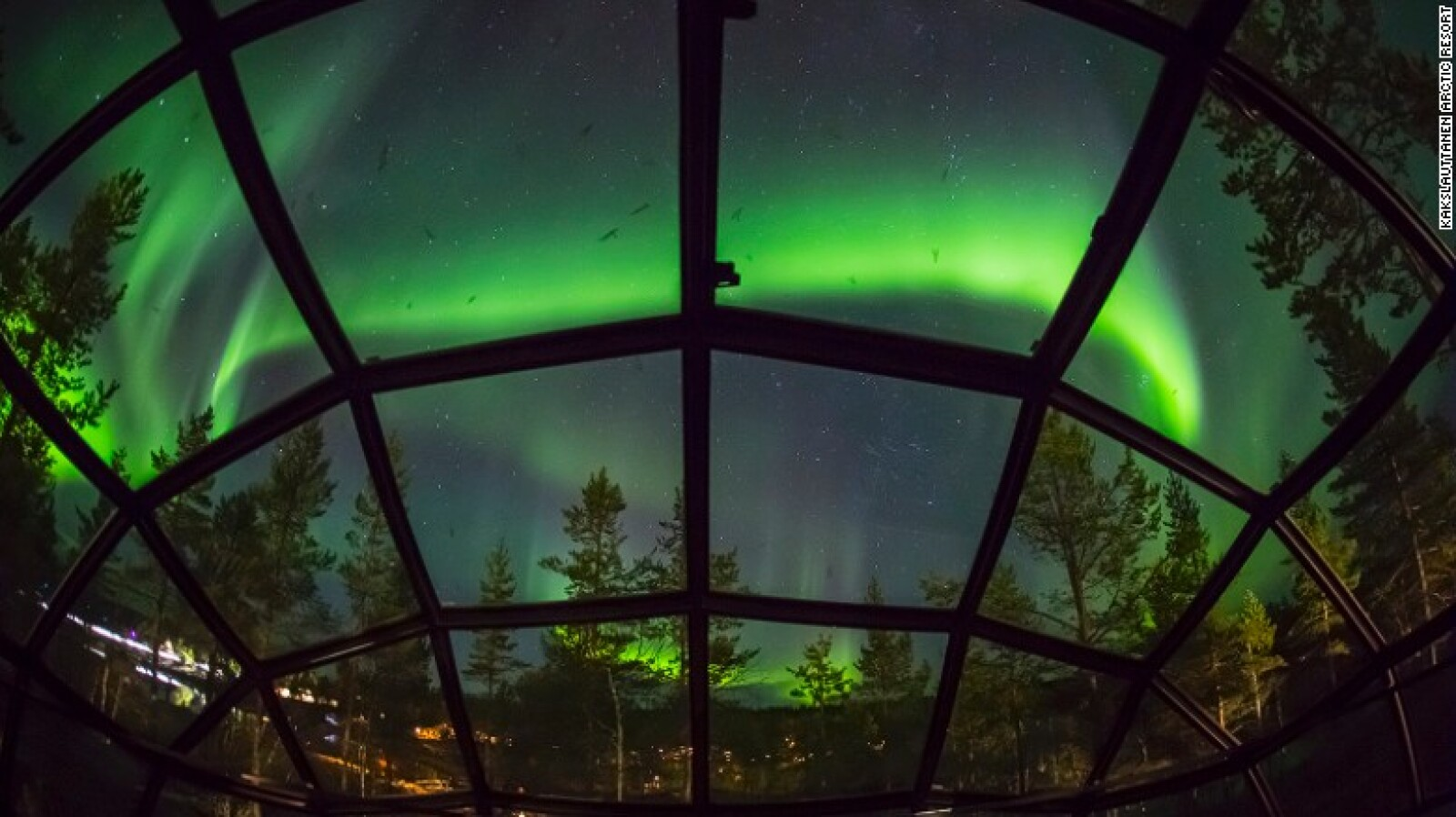 La temporada de auroras boreales en Laponia, a partir de finales de agosto.