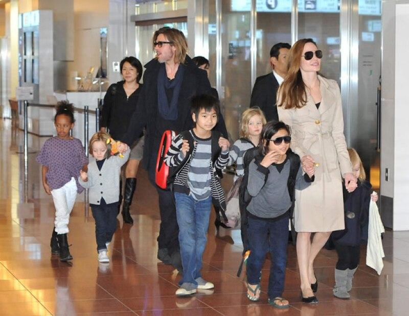 El actor confesó que al principio no se dieron cuenta lo mucho que significa para sus seis hijos que sus padres den el siguiente paso.