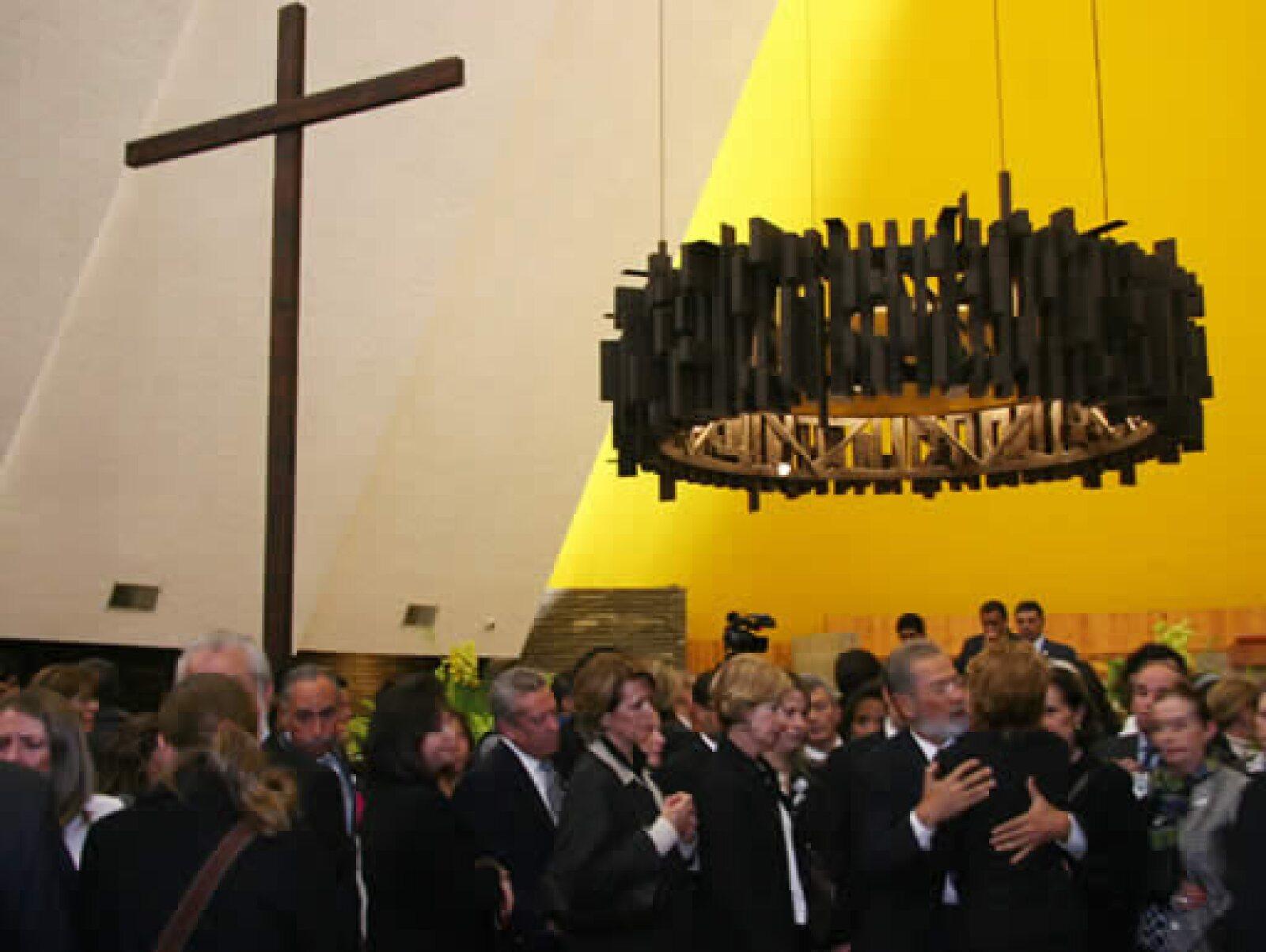La última misa se celebró el 11 de agosto en la iglesia de la Santa Cruz en Jardines del Pedregal.