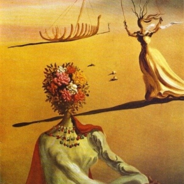 Vogue, junio 1939: El pintor Salvador Dalí contribuyó con ilustraciones para la revista Vogue desde los 30s hasta los 70s. Esta fue una de sus portadas.