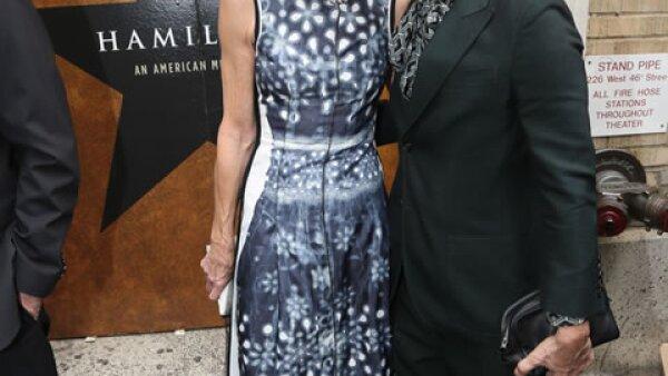 Anna Wintour y Marc Jacobs.