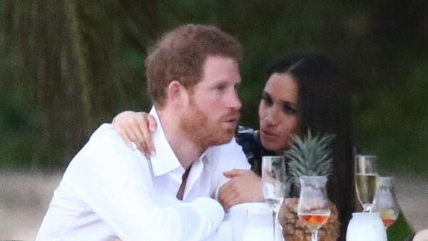 Meghan Markle y harry enamorados