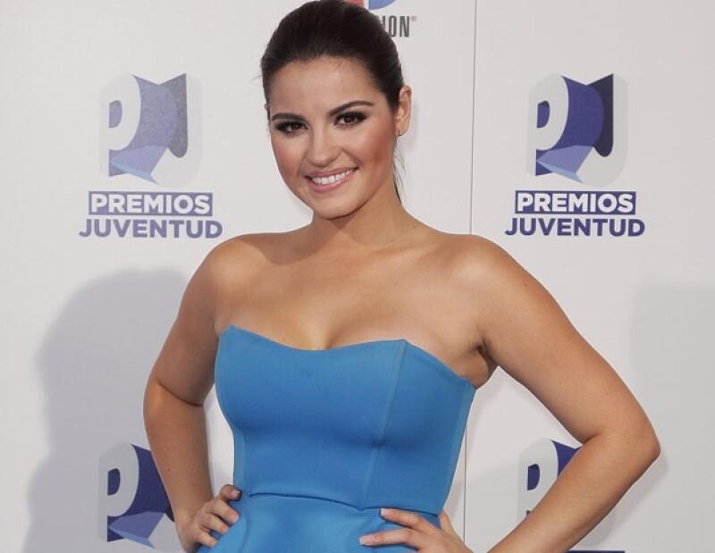 A través de un videochat, la actriz mexicana reveló que sus planes en puerta están enfocados en la música, por lo que viajará en los próximos días a EU y se mantendrá distante de las telenovelas.