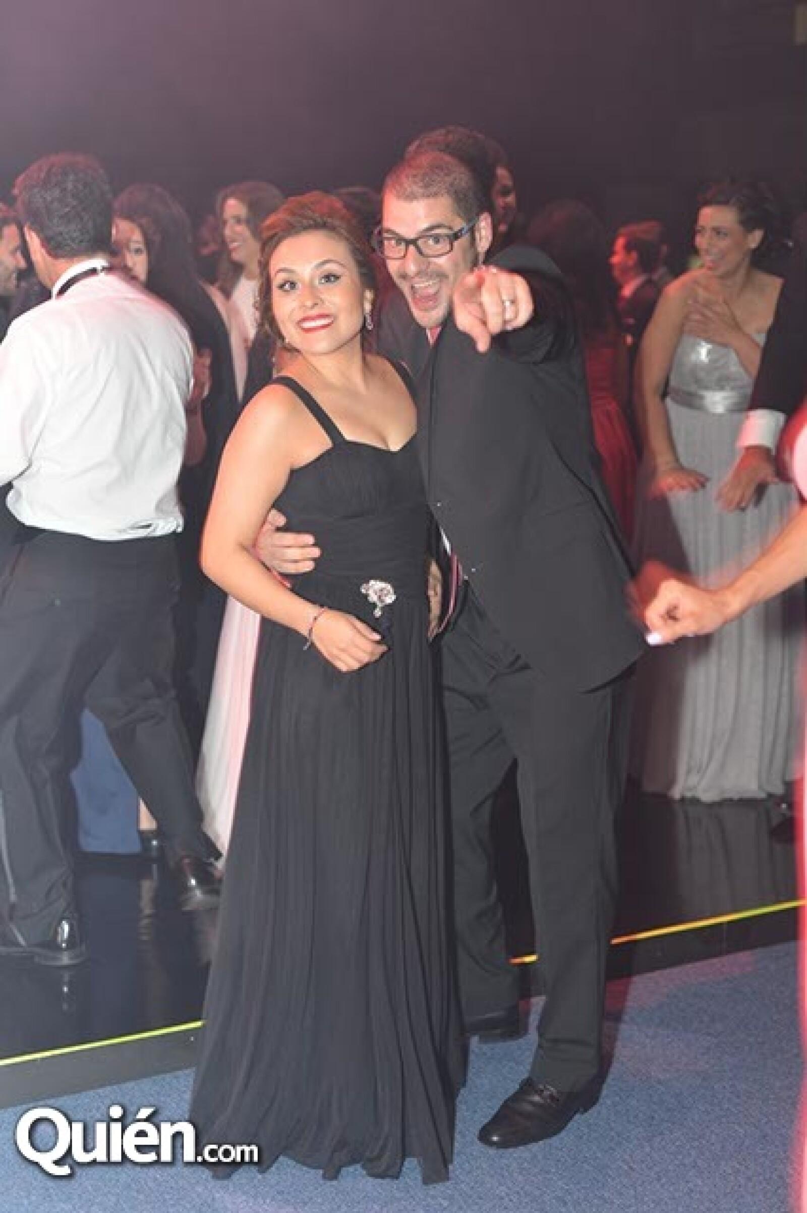 Brenda Hernández y Antonio Bitar.