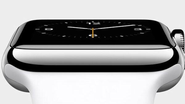 La compañía lanzó este martes su primer 'gadget' vestible, el Apple Watch.