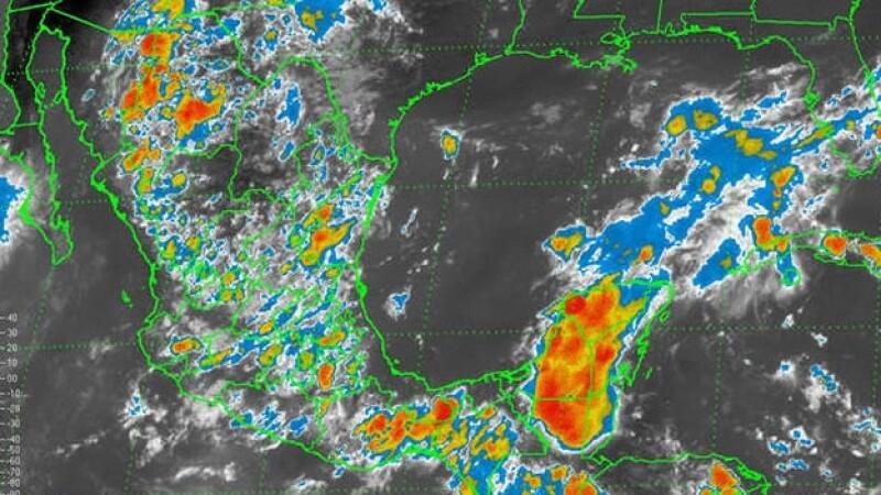 La tormenta tropical ?Polo? se aleja de las costas mexicanas que una baja presión mantiene en alerta a Chiapas