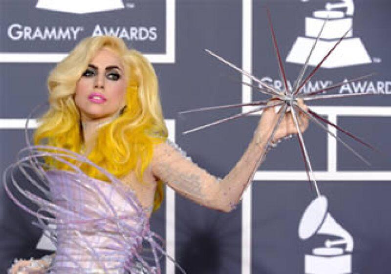 La cantante Lady Gaga ofreció durante el 2009 más de 100 conciertos. (Foto: AP)