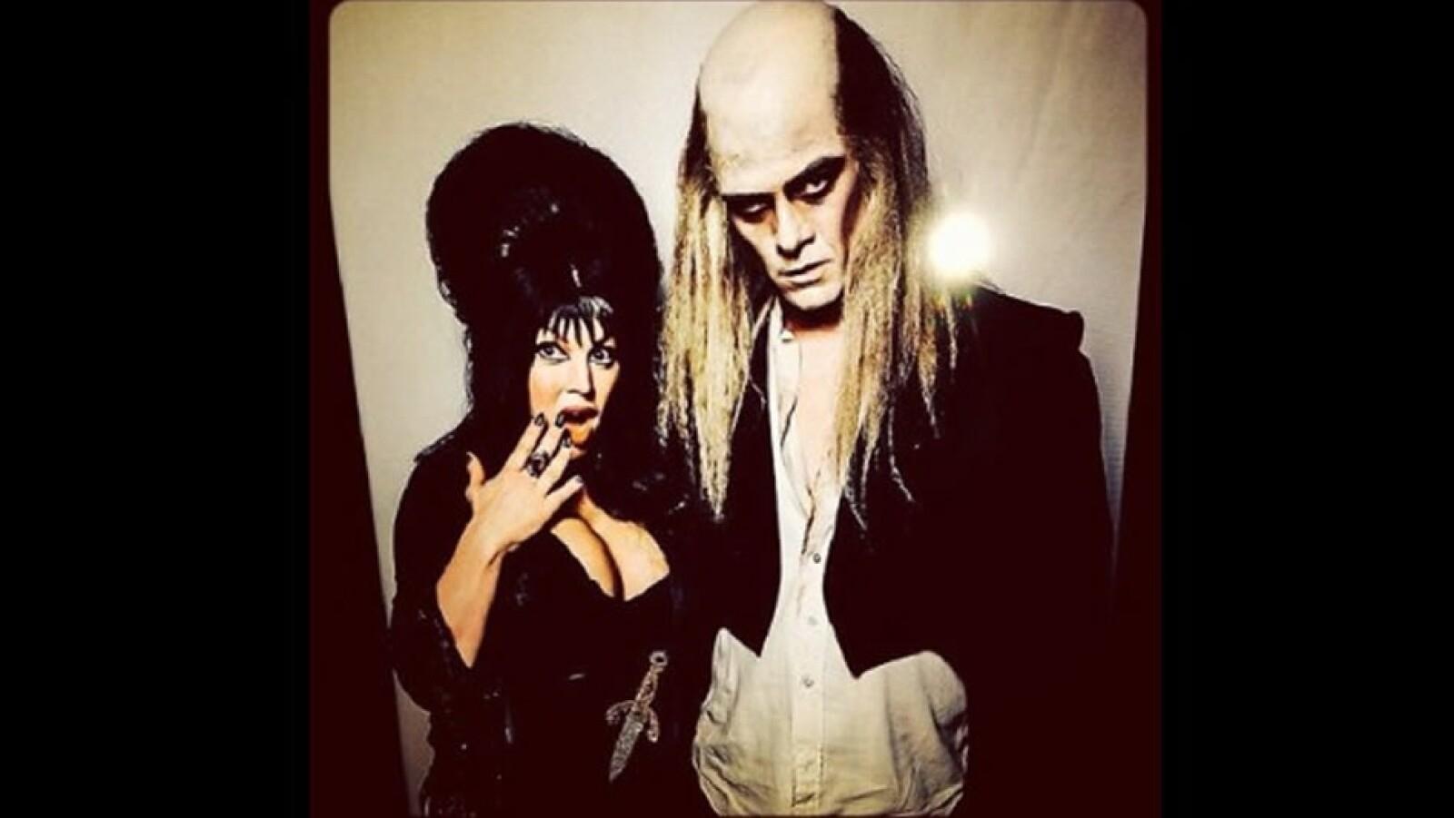 halloween, hollywood, artistas, disfraces, monstruos, cantantes, cultura pop, deportistas, sombrero, capa, guitarra