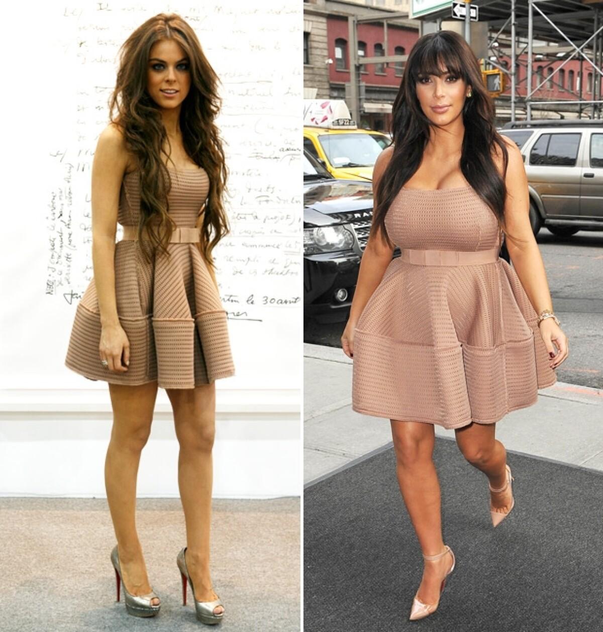 Yael Sandler, la mexicana que opacó el look de Kim Kardashian