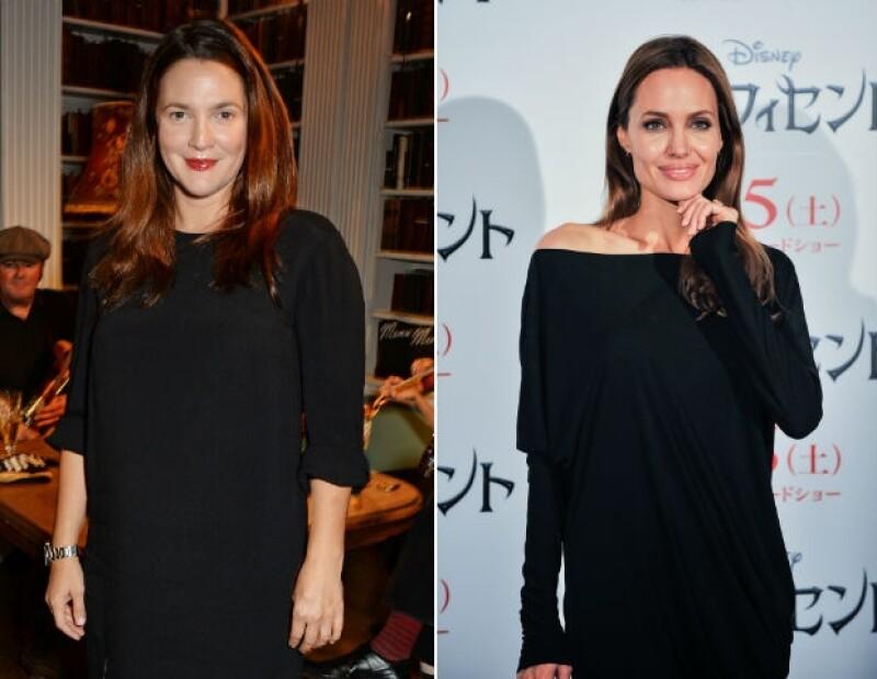 Drew y Angelina son dos grandes nombres de Hollywood que se han declarado bisexuales.