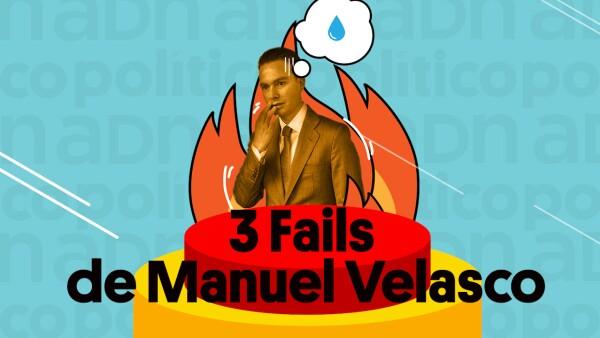 #DeViernes: 'Fails' de Manuel Velasco