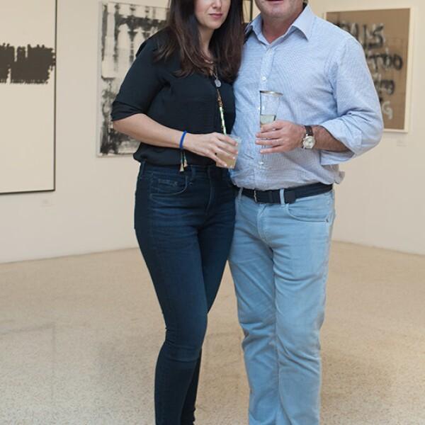 Claudia Levy y Juán Ball