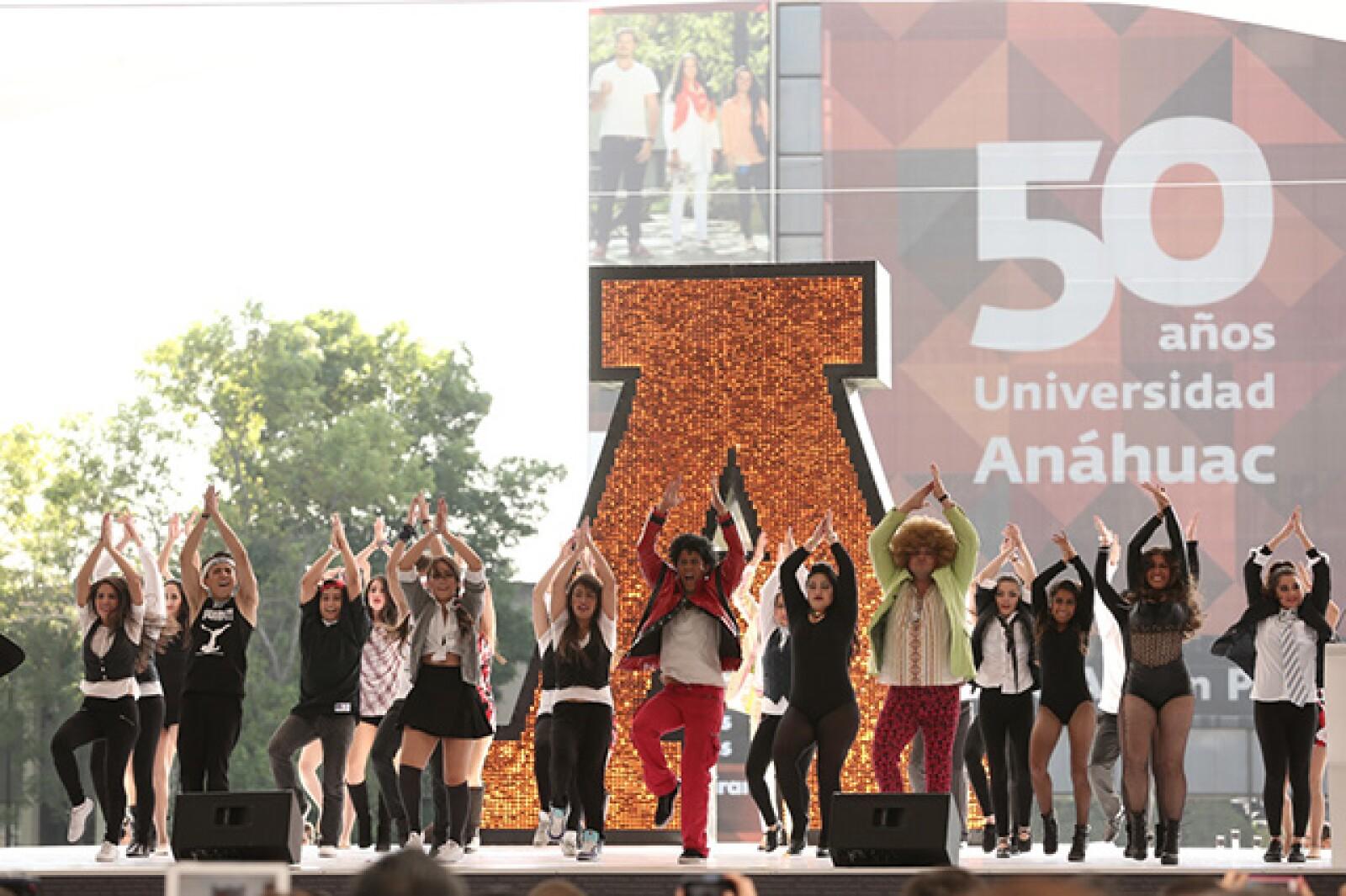 Clausura del 50 aniversario de la Anáhuac