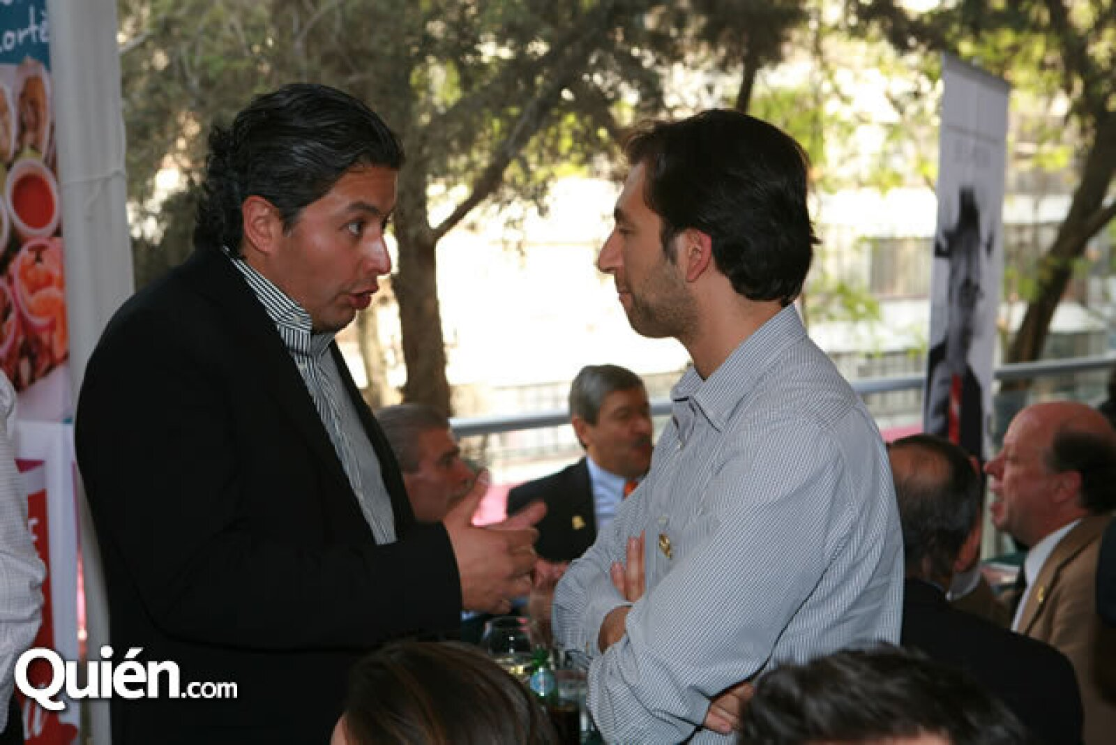 Eucario González y Carlos Dayan