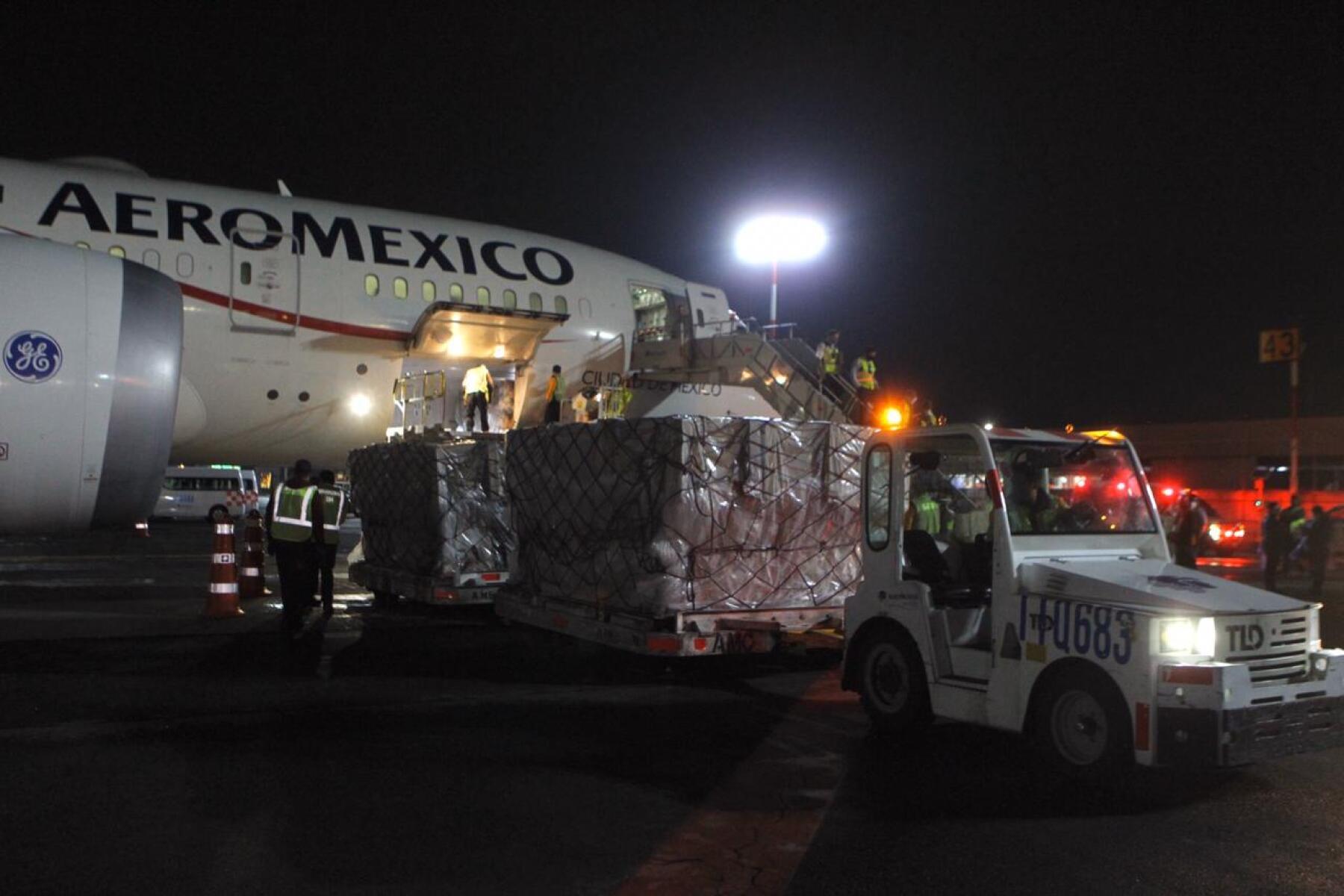 puente aéreo México- China
