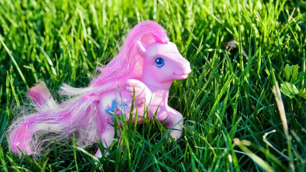 My Little Pony in Tall Grass