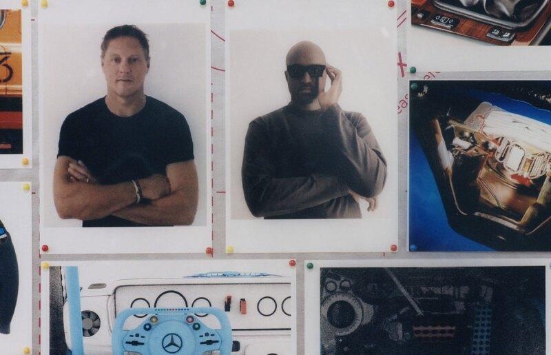 Foto: Mercedes-Benz, Gorden Wagener y Virgil Abloh por Bafic
