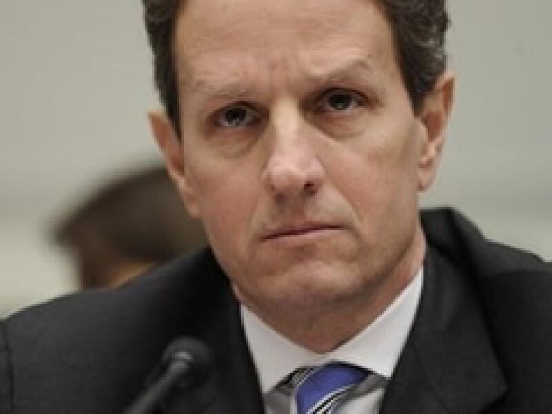 Timothy Geithner, secretario del Tesoro de EU. (Foto: Archivo)