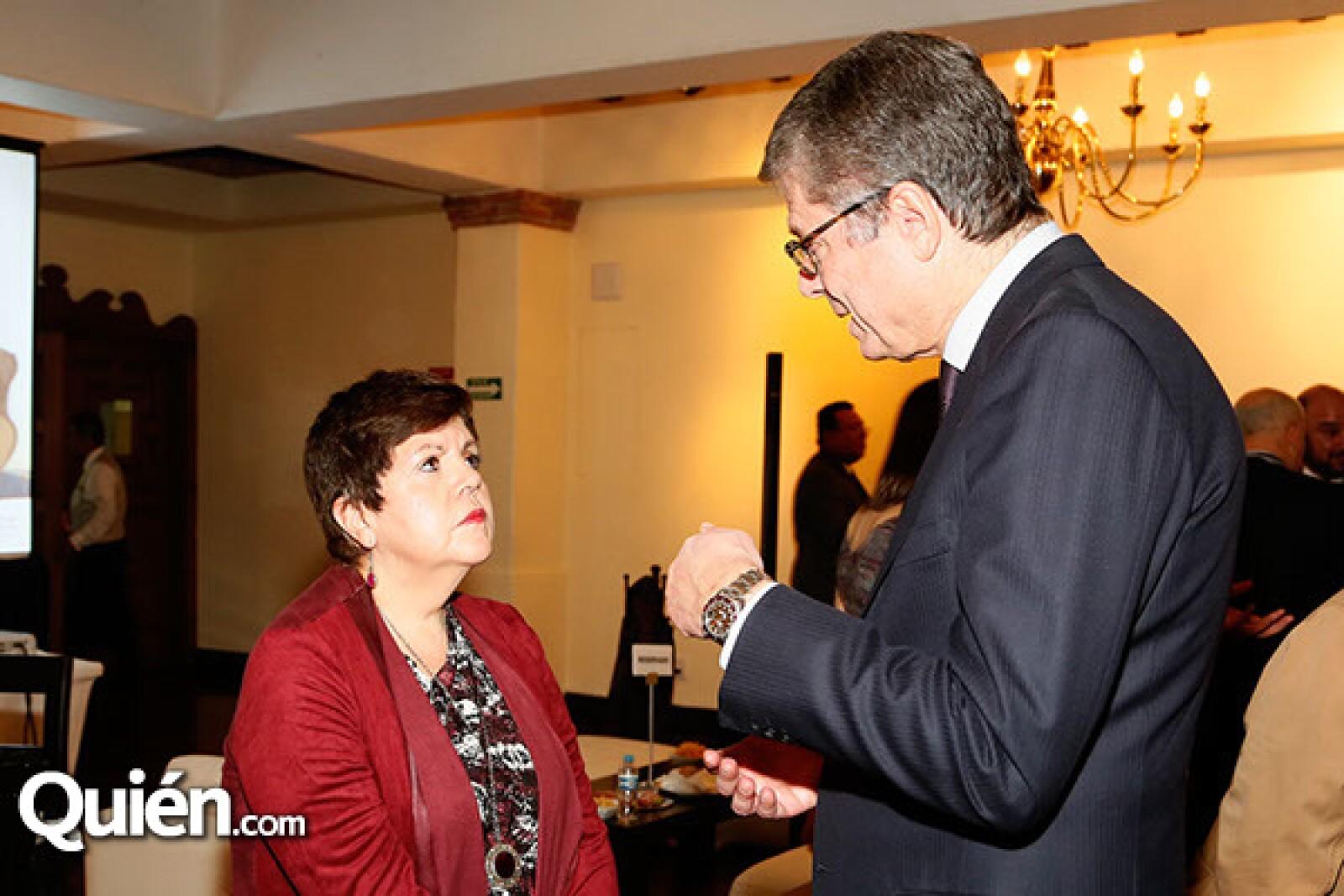Maricarmen Cortez y Alessandro Busacca