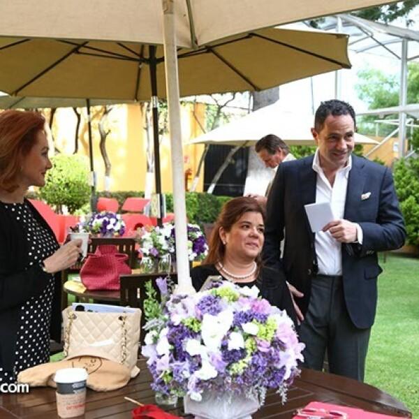 Patricia Barrios Gómez,Sonya Santos y Sergio Berger