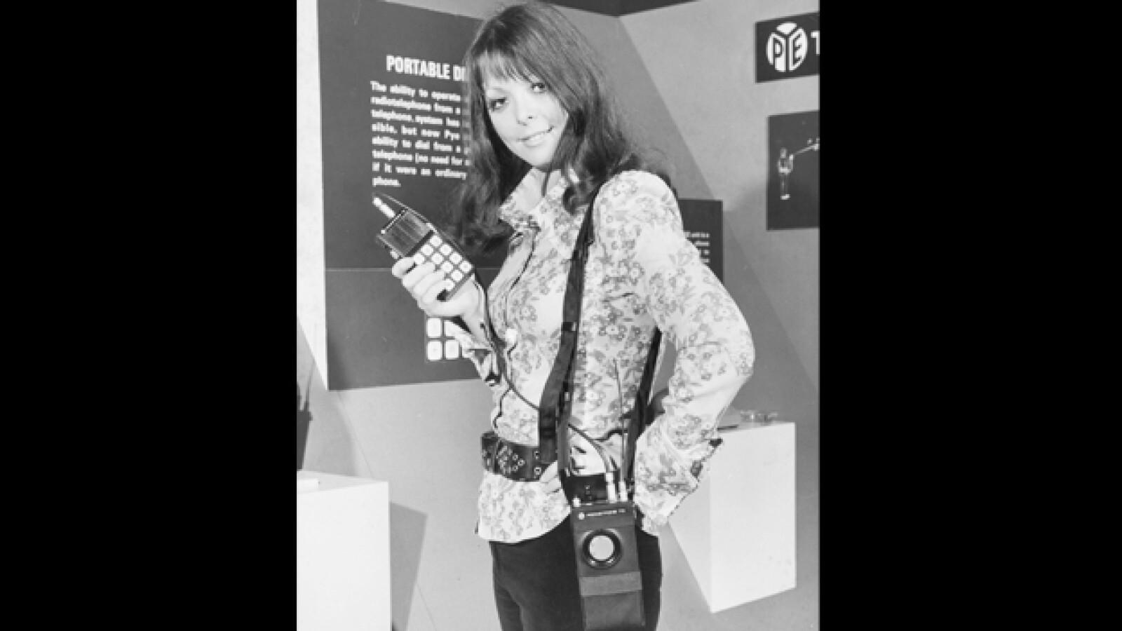 1972 telefono radio celular smartphone
