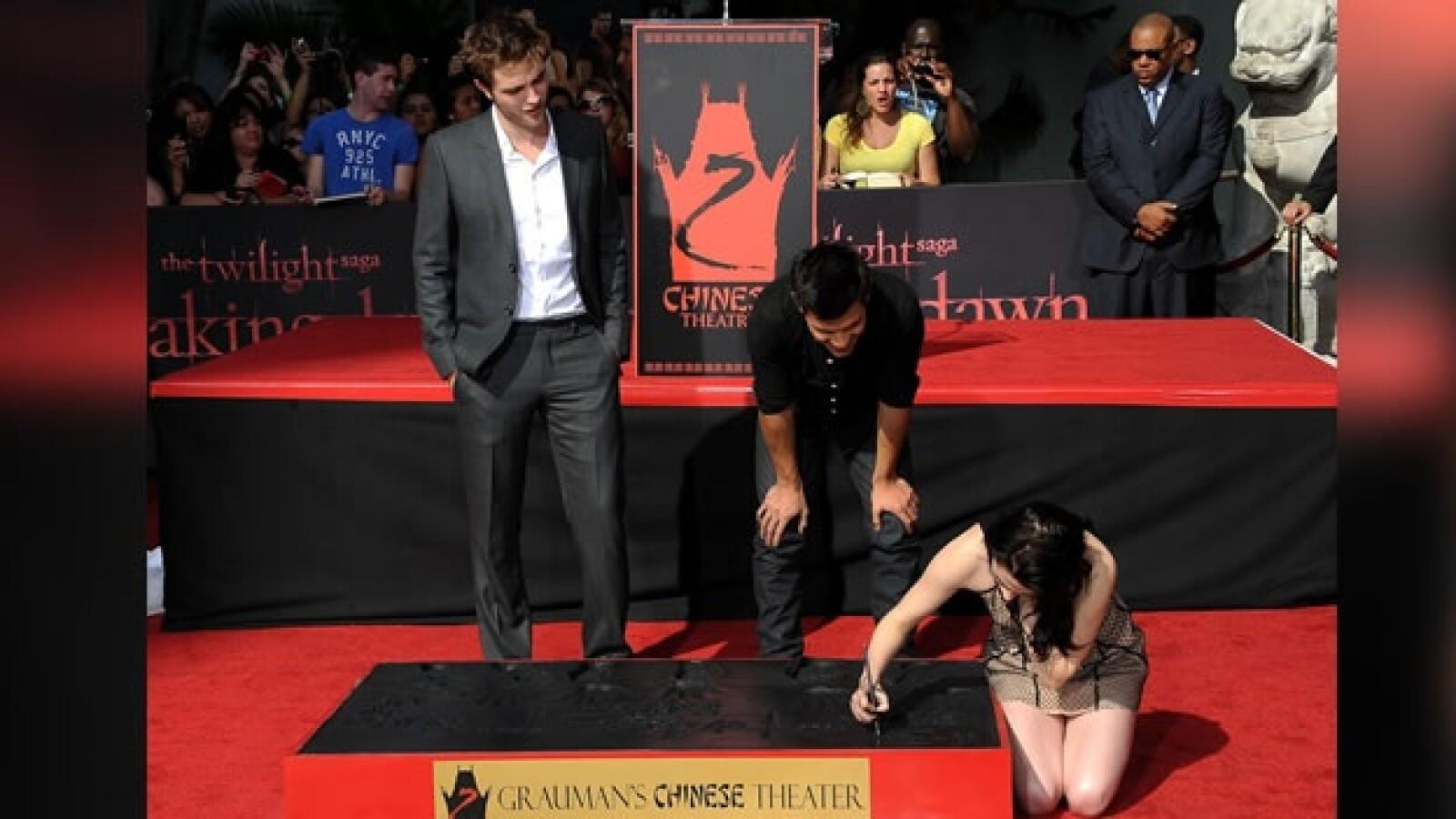 Crepúsculo huellas Stewart Pattinson Twilight Stephenie Meyer
