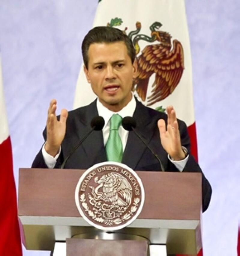 Hoy en el discurso por el Día de la Bandera, el presidente de México reconoció la labor de las instituciones que trabajaron con coordinación e inteligencia.