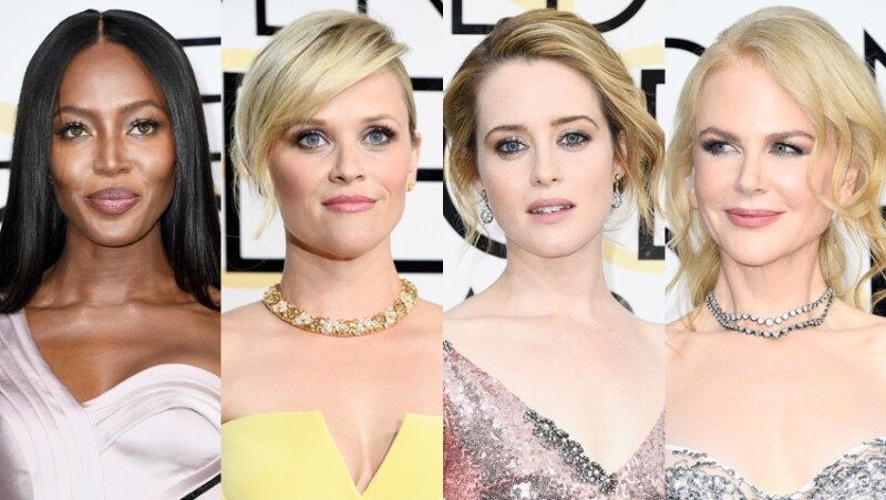 Naomi Campbell, Reese Witherspoon, Claire Foy y Nicole Kidman.