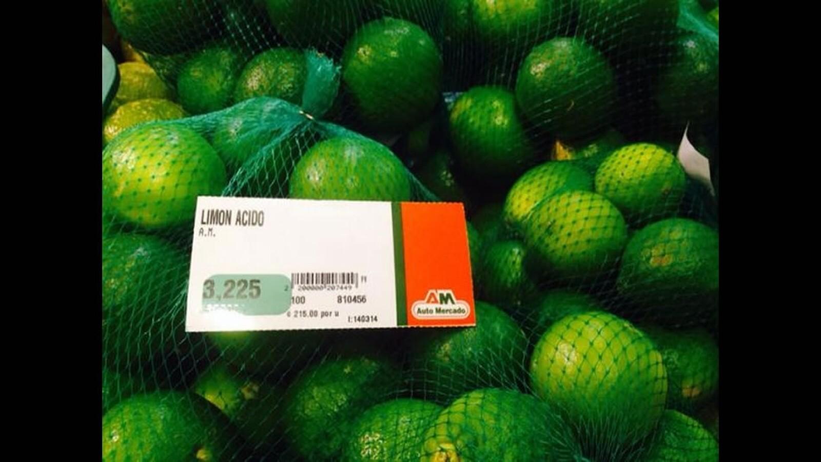 Los 'ticos' también pagan caro el limón