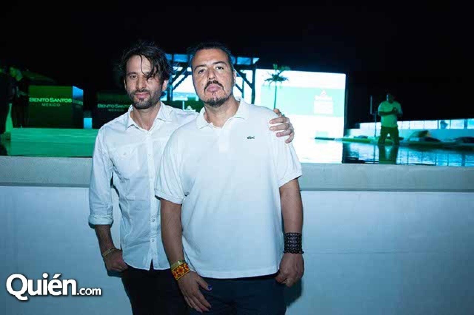 Cory Crespo y Jorge Mondragón