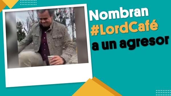 Sujeto agrede a mujer y lo nombran #LordCafé en Guadalajara | #EnSegundos ⏩