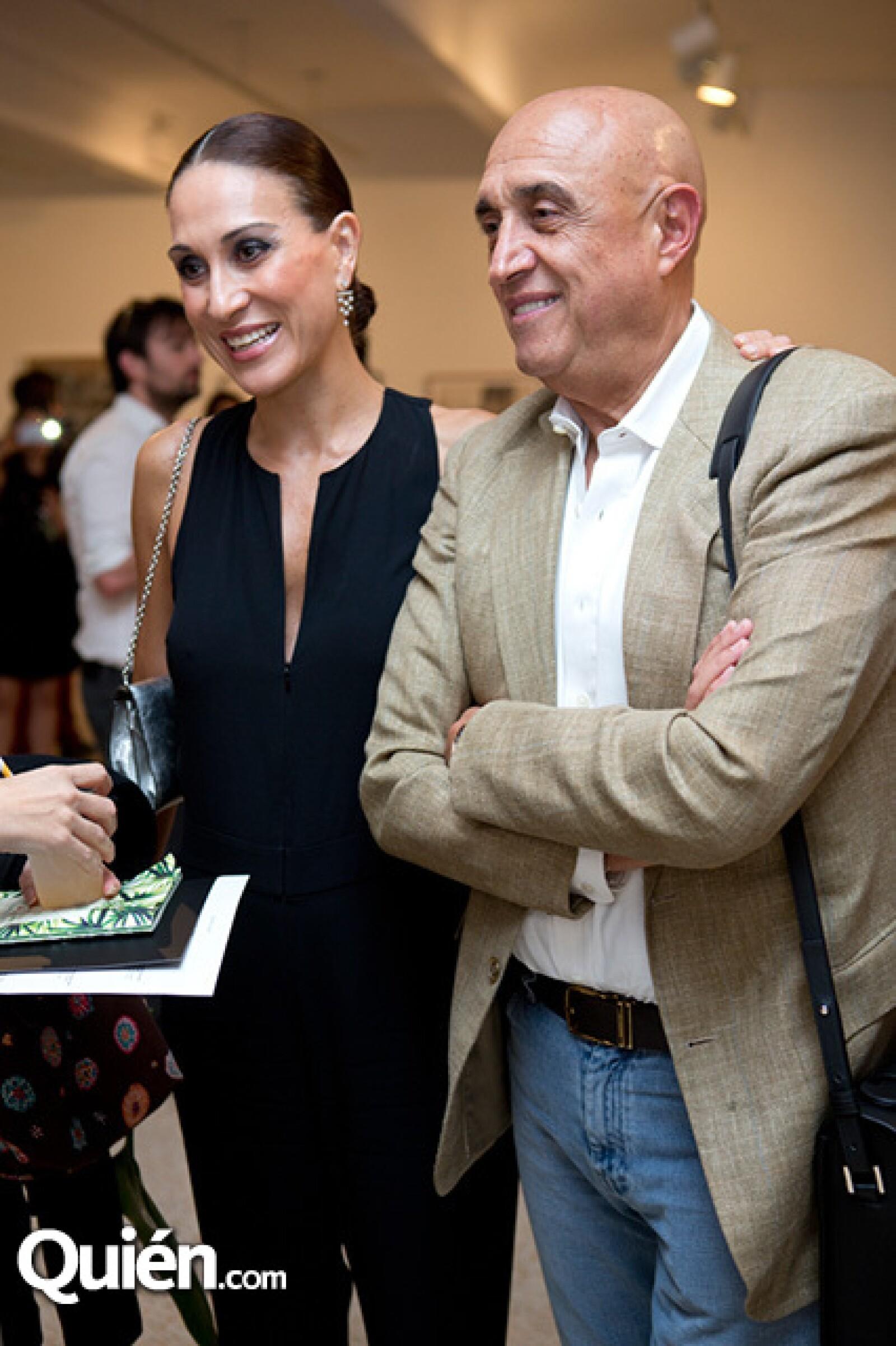 Roberta López Negrete y Pedro Torres