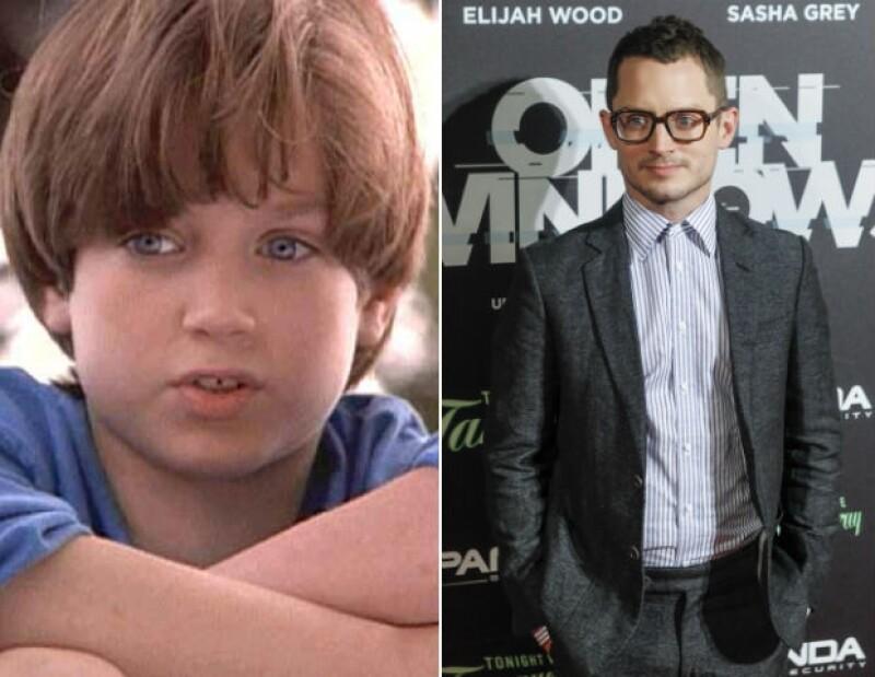 """Elijah era un tierno niño en """"Forever Young"""" en 1992."""