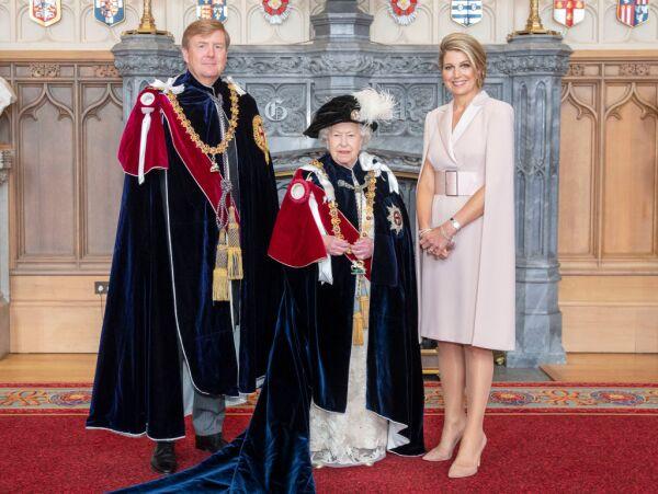 El rey Guillermo Alejandro y Máxima de Holanda