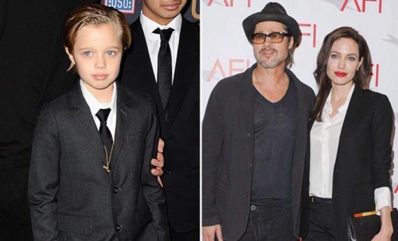 Angelina Jolie y Brad Pitt, así como Gwen Stefani y Will Smith son los papás más cool con sus hijos, y es que los dejan vestirse y ser como ellos desean.