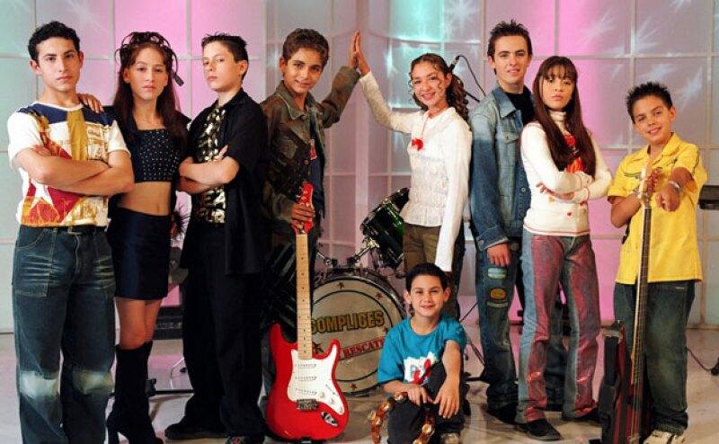 Así se veían todos los actores de Cómplices al Rescate, que también aparecieron en telenovelas como Amigos x Siempre, Aventuras en el Tiempo y El Diario de Daniela.