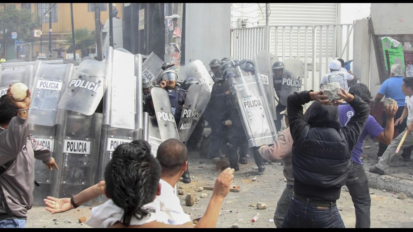 Un enfrentamiento en la delegación Álvaro Obregón de la Ciudad de México dejó un saldo de 101 heridos