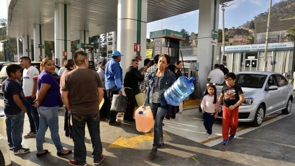 Abasto combustible Pemex