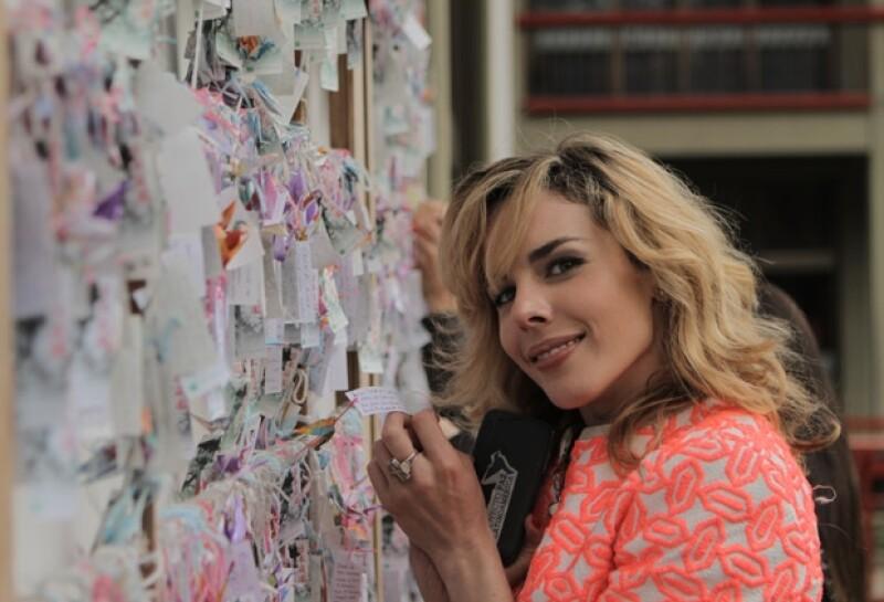 """La conductora y fashion expert ya está en México para promocionar su nuevo programa de televisión """"Manifesto"""", en exclusiva platicamos con ella de su proyecto."""