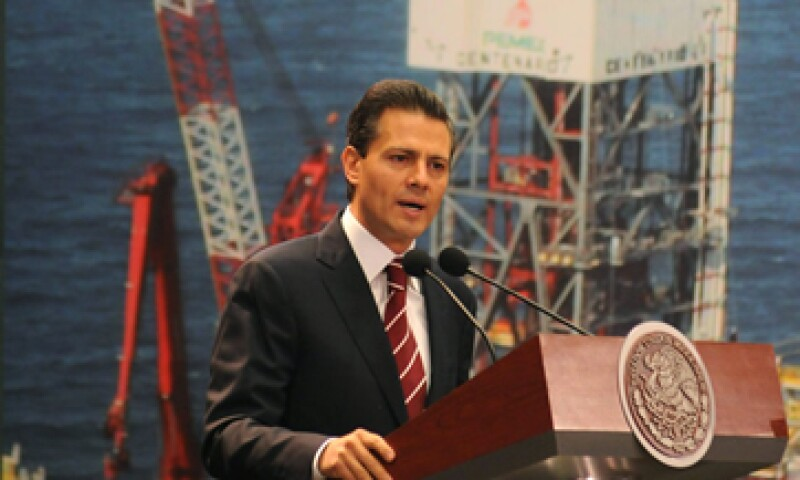 El presidente Enrique Peña Nieto presentó su iniciativa de reforma energética. (Foto: Notimex)